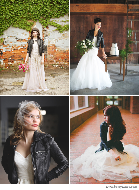 Leather Jacket Brides