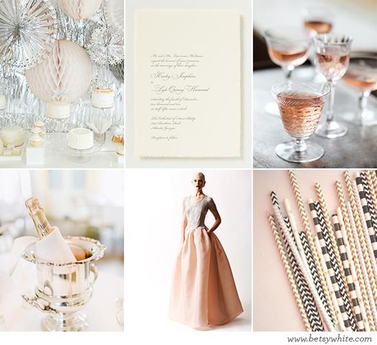 Silver New Year Wedding