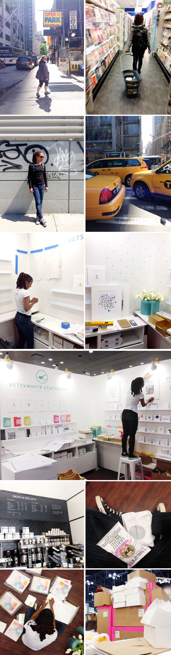 National Stationery Show 2014 - Setup Day 2