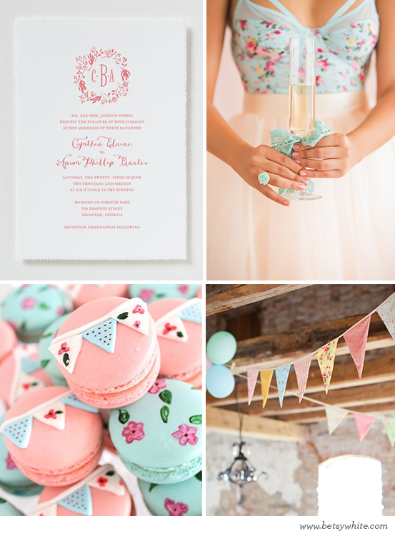 Shabby Chic Bridal Brunch