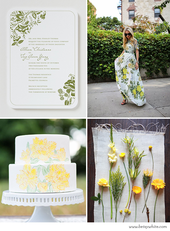 Soft Yellow Floral