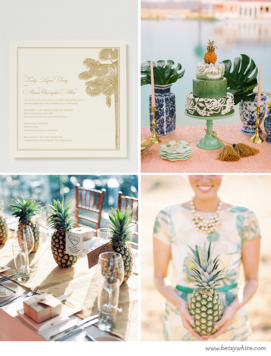 Sweet Pineapple Vows