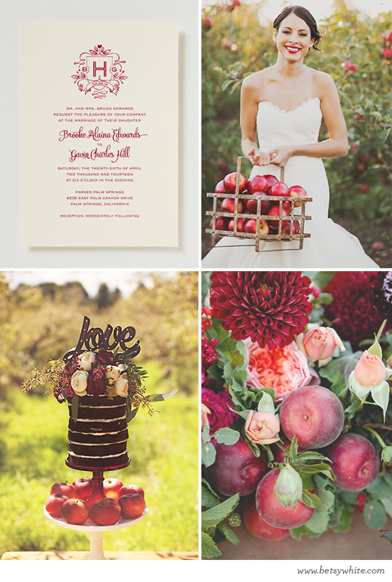 Autumn Apple Nuptials
