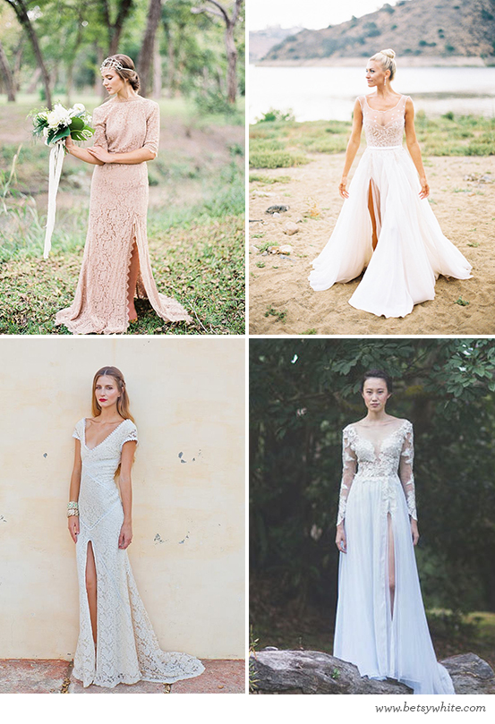Sleek Slit Brides