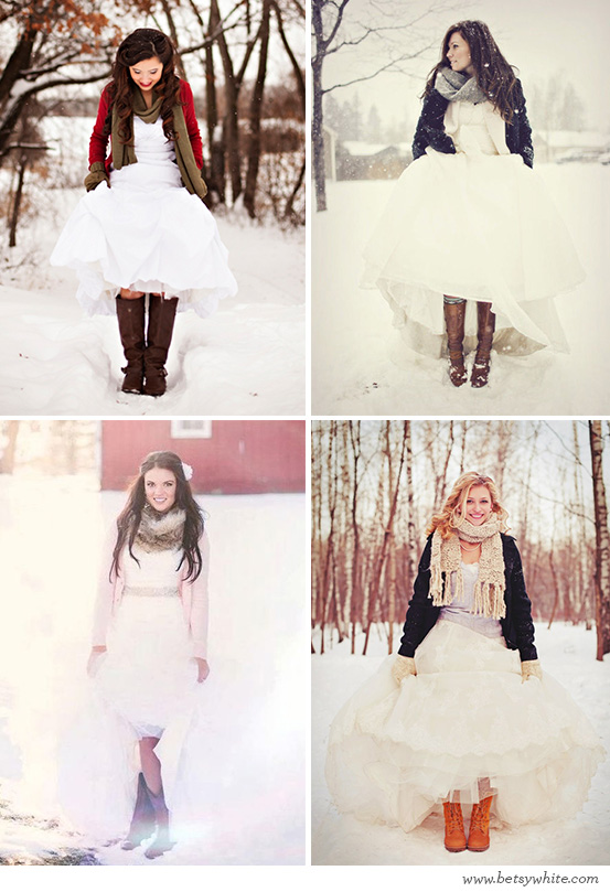 Warm Wintry Brides