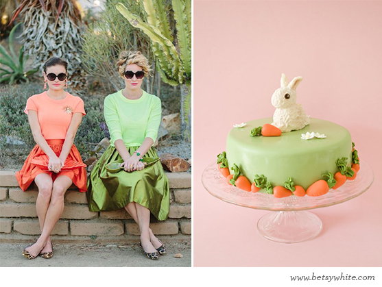 Pink & Green Easter