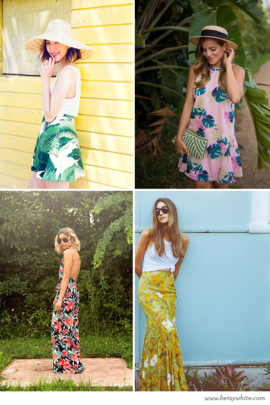 Totally Tropical Prints