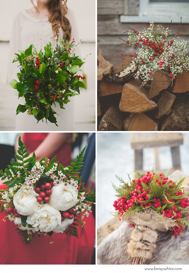 Bright Berry Bouquets
